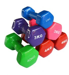 Best Hand Weights for Women 0.5-5kg Best Multi-Colors Ladies Dumbbells Chinese Factory Wholesale